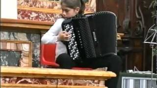 Bach : sonate par Lucia Genilloud - accordéon