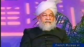 Rencontre avec les Francophones, 7 May 2001.