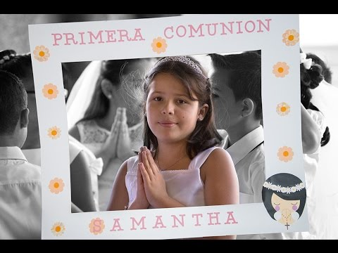 Photo Booth Primera Comunión