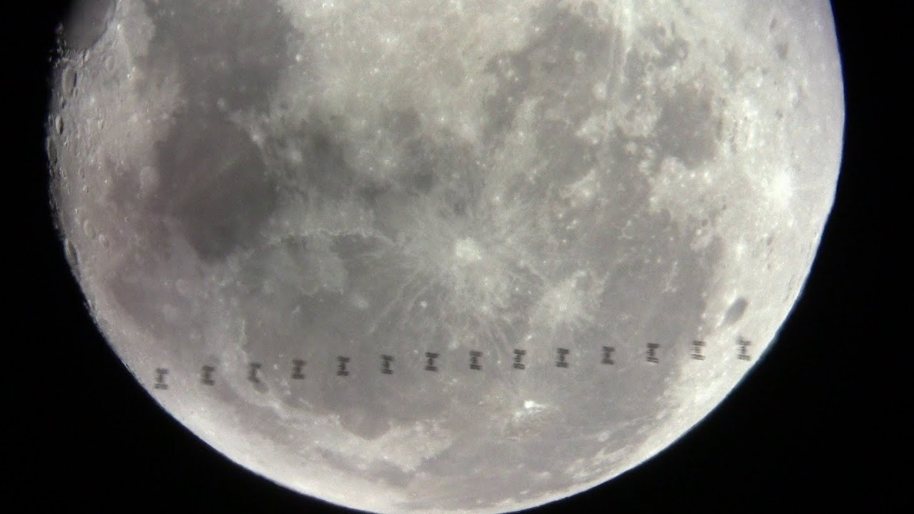 space station lunar transit -#main