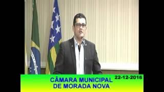 Joel Ferreira Pronunciamento 22 12 16