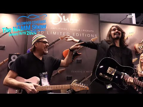 Mateus Asato and Greg Koch Jam at the Suhr Guitar Booth  •  NAMM 2020