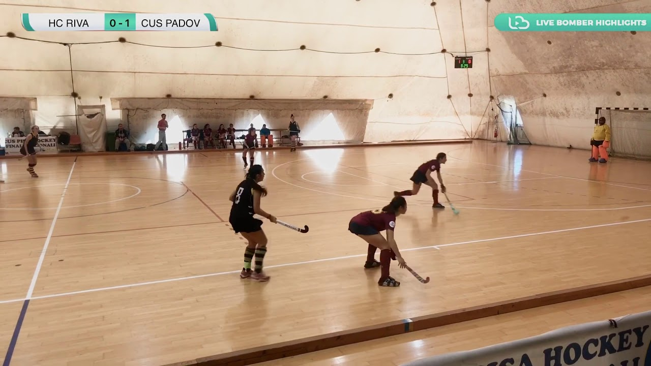 ???? Highlights #U21F #Indoor ~ Hc Riva vs Cus Padova ????