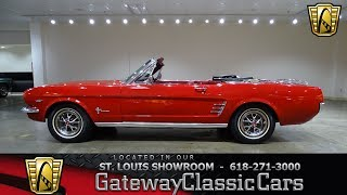 #7373 1966 Ford Mustang - Gateway Classic Cars of St. Louis