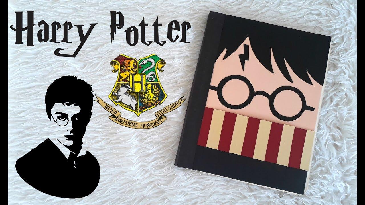 Diy Libreta De Harry Potter Regreso A Clases