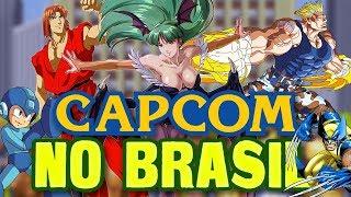 A Era de Ouro dos Fliperamas da Capcom no Brasil