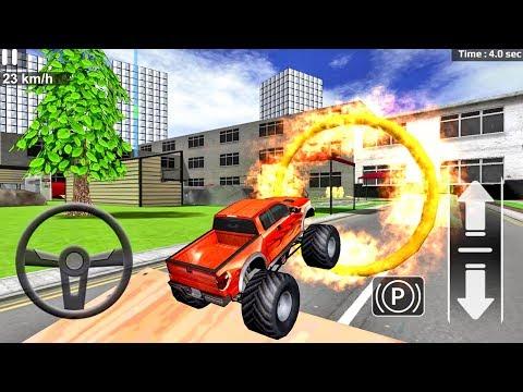 Car Driving Simulator - Game Monster Truck Car Android Gameplay