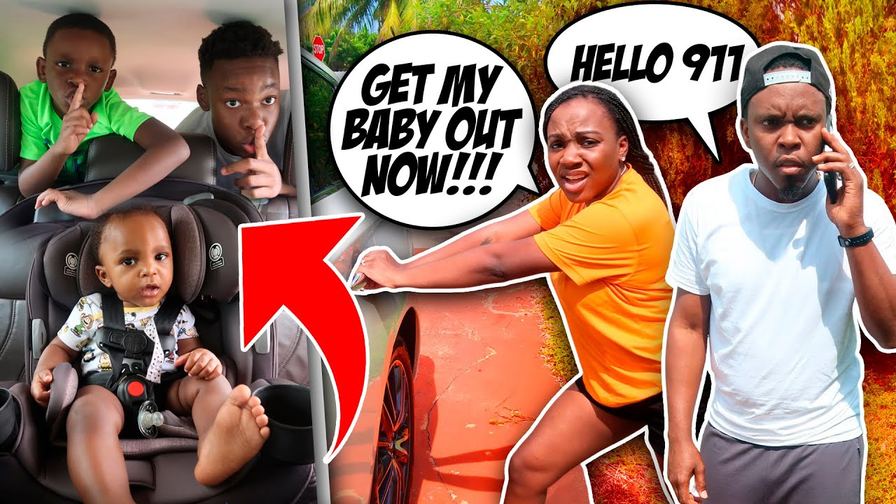 LOCKED Our BABY In HOT CAR Prank *Bad Idea*