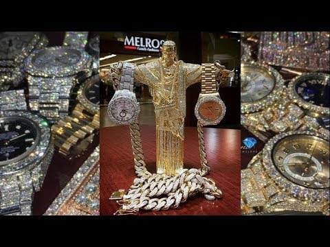 BEST OF RAPPERS JEWELRY COLLECTION OF 2017 (RECAP)