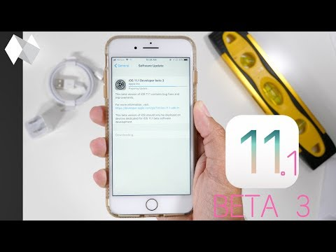 iOS 11.1 Beta 3 Released! What's New? Major Changes!