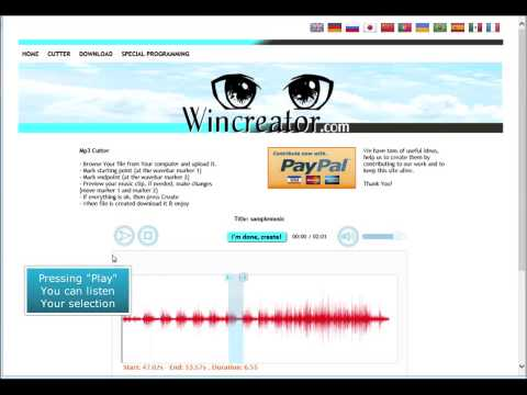 How to trim and cut mp3 files online