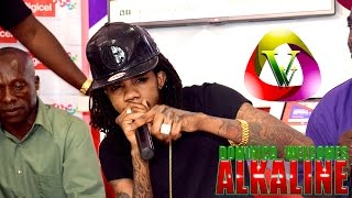 VIBES VIDEO:Alkaline at Digicel Dominica (press Con)