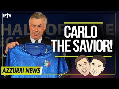 IS CARLO ANCELOTTI ITALY'S NEXT COACH?!