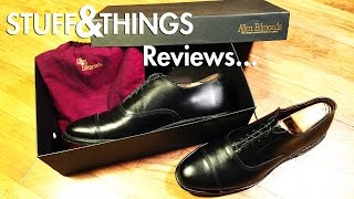 """Review: Allen Edmonds """"Park Avenue"""" Cap-Toe Oxfords, Men's Dress Shoes"""