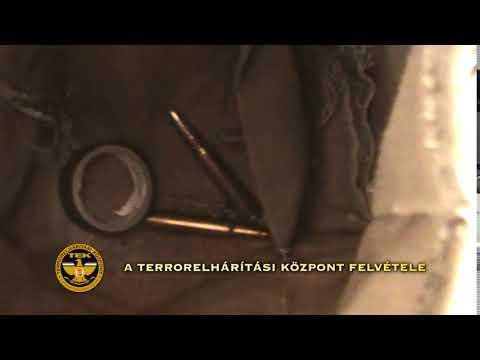 Lőfegyver és lőszerek a lakókocsiban