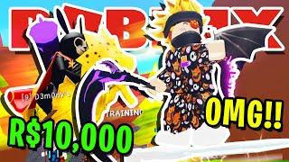 SPENDING R$10,000 TO BECOME THE BEST PLAYER IN ROBLOX WIZARD SIMULATOR!! (MOUNTS). 🧙
