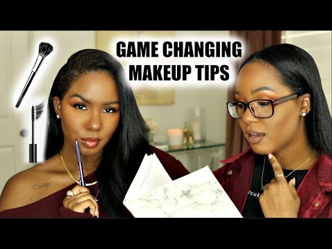 GAME CHANGING MAKEUP TIPS WE'VE LEARNED!