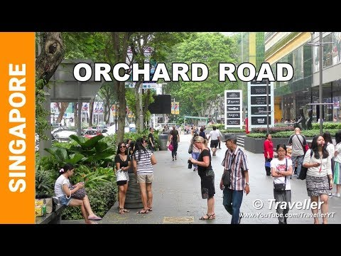 Singapore Attractions - Orchard Road walking tour - Singapor