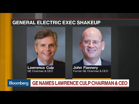 GE Names Culp to Replace Flannery as CEO