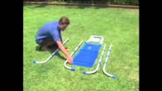 Установка лестницы для бассейнов Intex(, 2011-09-06T08:42:46.000Z)