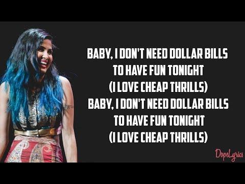 Sia - Cheap Thrills (Vidya Vox Cover) (ft. Shankar Tucker & Akshaya Tucker)(Lyrics)