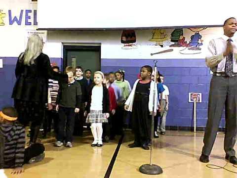 "Bingham Farms Elementary School-""Hero"" --MLK Day Peace Assembly"