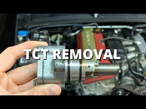 Timing Chain Tensioner (TCT) Removal   Honda S2000