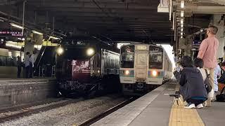 E655系和 松本駅発車