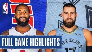 PISTONS at GRIZZLIES   FULL GAME HIGHLIGHTS   February 3, 2020