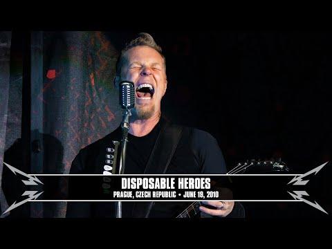 Metallica: Disposable Heroes (MetOnTour - Prague, Czech Republic - 2010) Thumbnail image