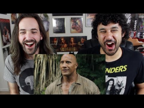 JUMANJI: WELCOME TO THE JUNGLE TRAILER #2 REACTION & REVIEW!!!