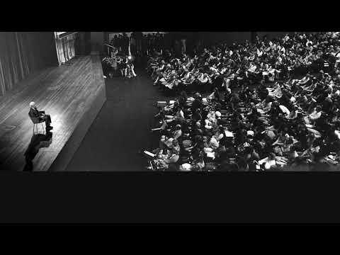 Audio | J. Krishnamurti –Amsterdam 1971 – Public Talk 3 – I cannot assume anything about myself