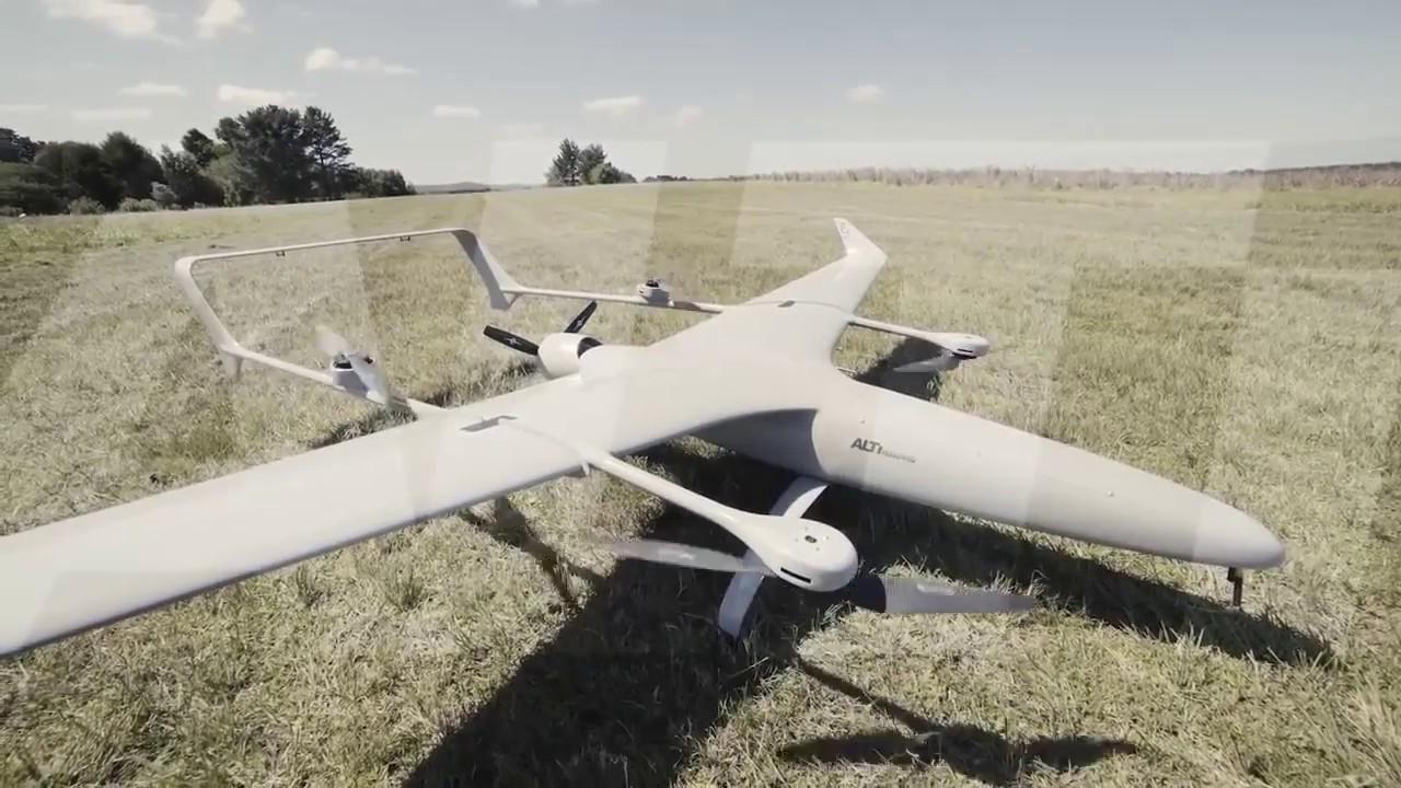 ALTI Transition 7 hour endurance VTOL drone
