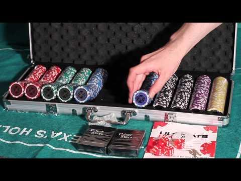 Обзор покерного набора Ultimate на 500 фишек
