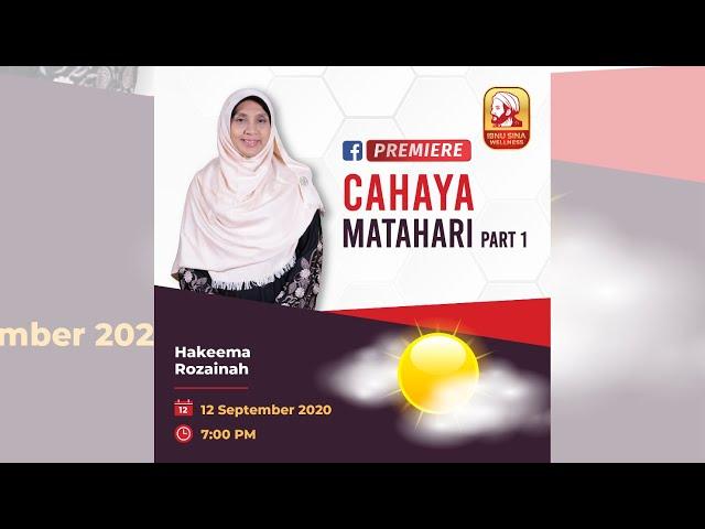 CAHAYA MATAHARI PART 1