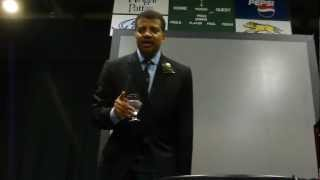 Neil deGrasse Tyson Quoting Jon Stewart After Lecture @ Wright State 3-7-13