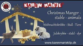 Karen Marie Klip Quilling Papierstreifen Mix,The Three Kings