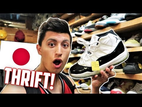 THRIFT SHOPPING OSAKA JAPAN! (Amerikamura Vlog) | SNEAKERTALK