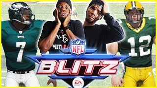 BROTHERS SHOW NO MERCY! DIRTY PLAYS EVERYWHERE! - NFL Blitz Gameplay | #ThrowbackThursday