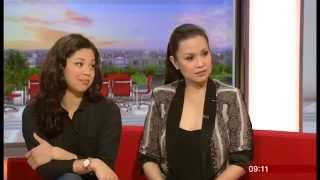 Lea Salonga & Eva Noblezada: Interview - BBC Breakfast (2014)