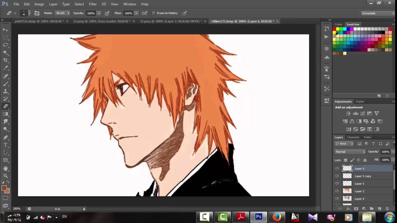 Manga Coloring - YouTube