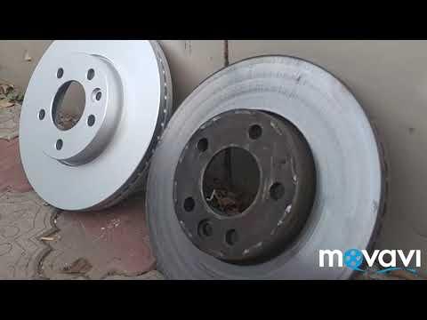 Т5,биение тормозных дисков,хотел сэкономить.