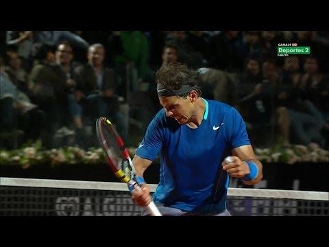 Rafael Nadal VS Andy Murray ROME  2014 MASTERS 1000 HD