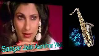 #332:- Saagar Jaisi Aankhon Wali | Saagar | kishore Kumar | Saxophone Cover