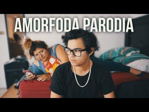 Bad Bunny - Amorfoda (PARODIA CUANDO TU MAMÁ NO TE DEJA SALIR)