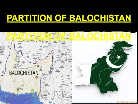 PARTITION OF BALOCHISTAN IS FINALLY GOING TO HAPPEN!!!
