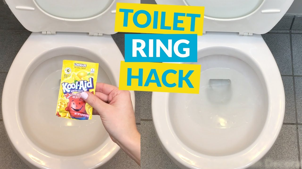 Hard Water Stain Trick - YouTube