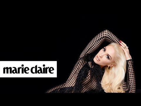 Gwen Stefani | Behind the Scenes | Marie Claire