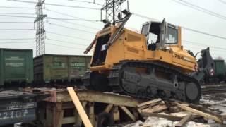 видео негабаритные перевозки железнодорожным транспортом