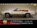 1985 Cadillac Eldorado Biarritz Convertible Stock #7192 Gateway Classic Cars St. Louis Showroom